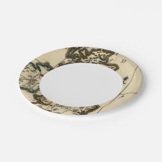 British Isles 7 7 Inch Paper Plate