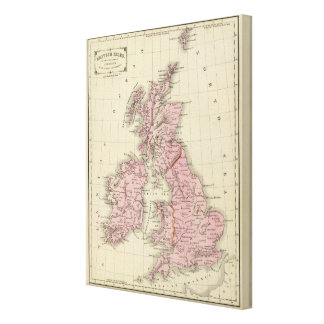 British Isles 7 Canvas Print