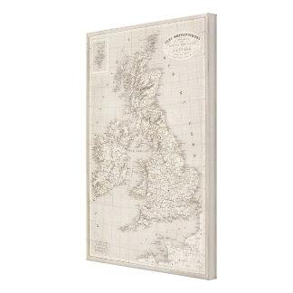 British Isles 7 Canvas Print
