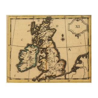 British Isles 7 Wood Wall Decor