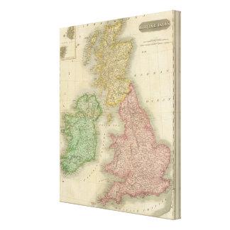 British Isles 8 Canvas Print