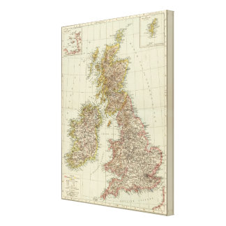 British Isles 9 Canvas Print