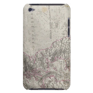 British Isles and surrounding sea Barely There iPod Covers