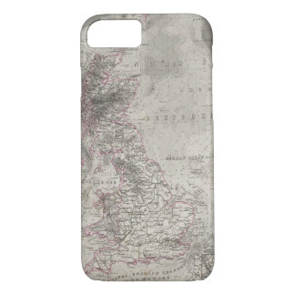 British Isles and surrounding sea iPhone 8/7 Case