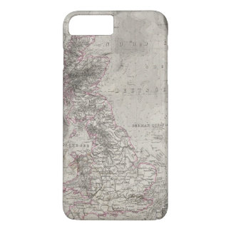 British Isles and surrounding sea iPhone 8 Plus/7 Plus Case