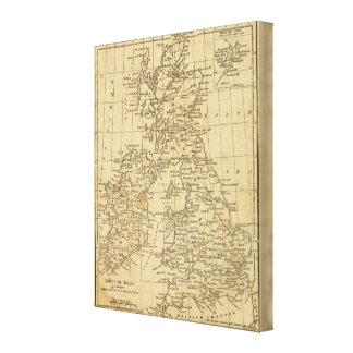British Isles Canvas Print