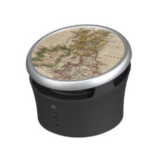 British Isles Map Bluetooth Speaker