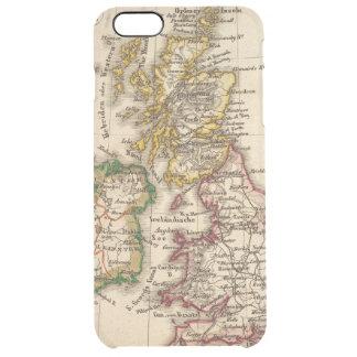 British Isles Map Clear iPhone 6 Plus Case