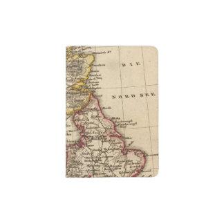 British Isles Map Passport Holder