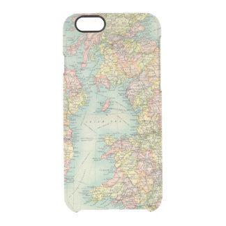 British Isles political map Clear iPhone 6/6S Case