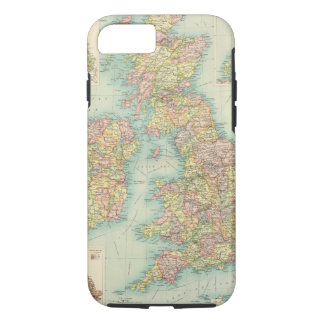 British Isles political map iPhone 8/7 Case