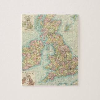 British Isles political map Jigsaw Puzzle