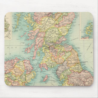 British Isles political map Mouse Mat