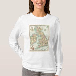 British Isles political map T-Shirt