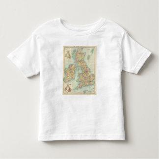 British Isles political map Toddler T-Shirt