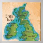 British Isles Poster