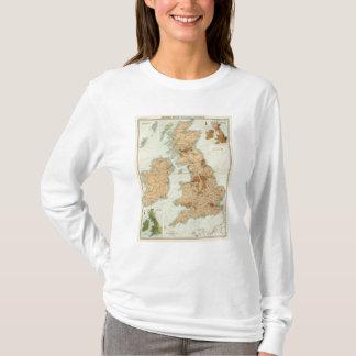 British Isles railways & industrial map T-Shirt