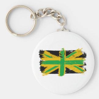 British Jamaican Key Ring