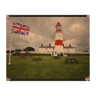 British Lighthouse Cork Fabric