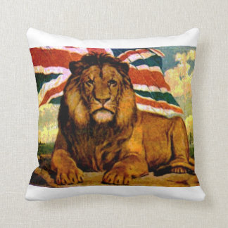 British lion cushion