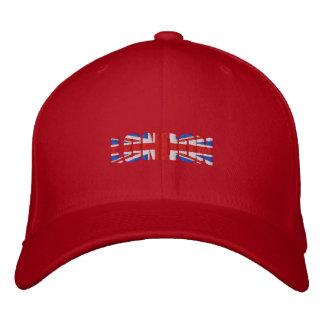 British Lions style Union Jack flag London Logo Embroidered Baseball Cap
