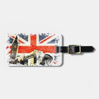 British London Luggage Tag