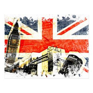 British London Postcard