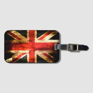 British Luggage Tag