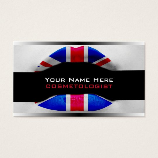 British Make-Up Artist  Business Cards