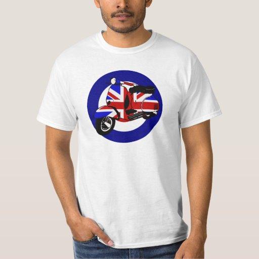 British mod scooter on target T-Shirt