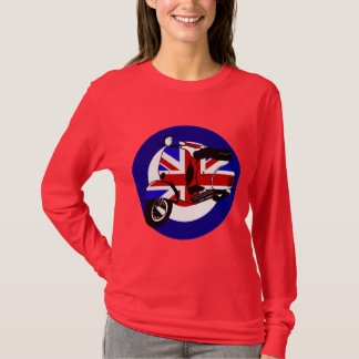 British mod scooter on target T-Shirt