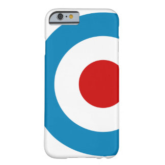 British Mod Target Design Barely There iPhone 6 Case