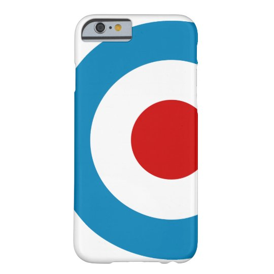 British Mod Target Design Barely There iPhone 6