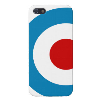 British Mod Target Design Case For iPhone 5/5S