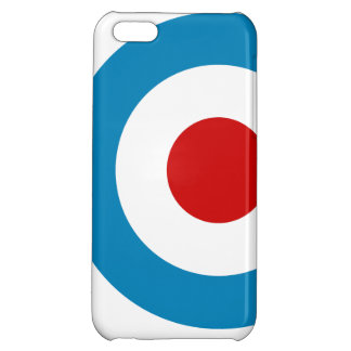 British Mod Target Design iPhone 5C Cover