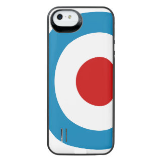 British Mod Target Design iPhone SE/5/5s Battery Case