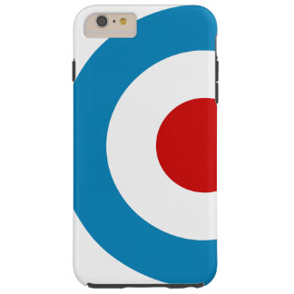 British Mod Target Design Tough iPhone 6 Plus Case
