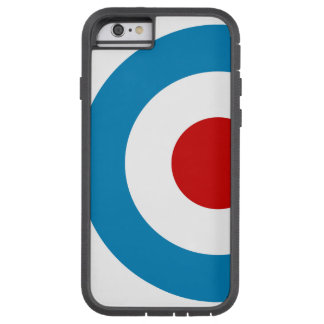 British Mod Target Design Tough Xtreme iPhone 6 Case