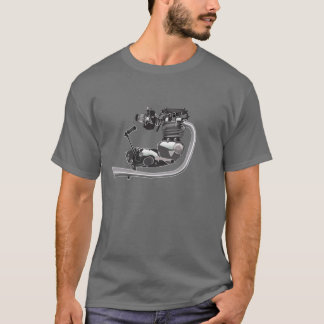 British Motorcycle Engine triumph T-Shirt