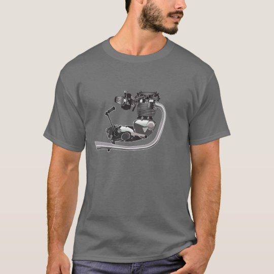 British Motorcycle Engine triumph T-Shirt