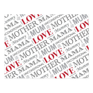 British Mum's Vintage Mother's Day or Birthday Postcard