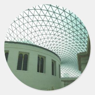 British Museum Round Sticker