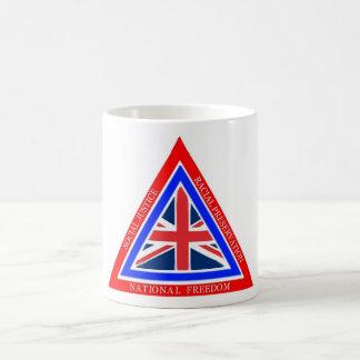 British Nationalism Basic White Mug