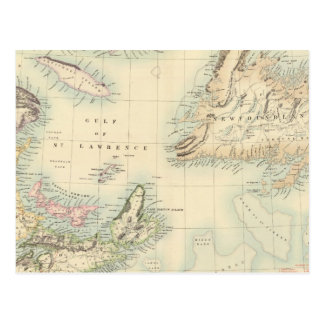 British North America 3 Postcard