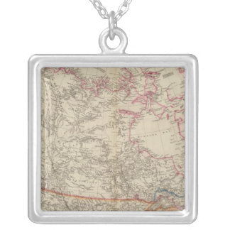 British North America 3 Silver Plated Necklace