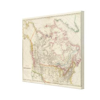 British North America 4 Canvas Print