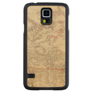British North America 5 Carved Maple Galaxy S5 Case