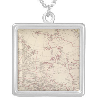 British North America Silver Plated Necklace