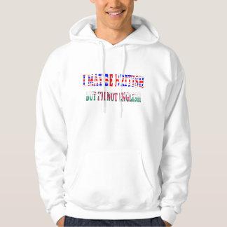 British not english hoodie