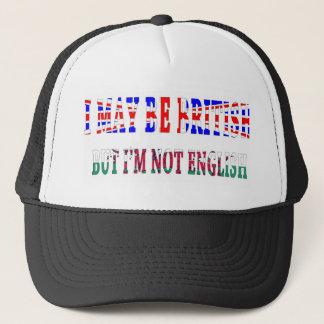 British not english Wales Trucker Hat